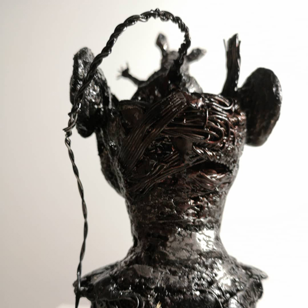 that rodent again, Iva Atoski, sculpture